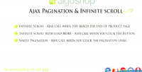 Ajax jigoshop scroll infinite pagination