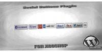 Buttons social for jigoshop