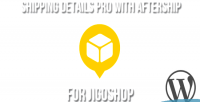 Details shipping pro jigoshop for plugin