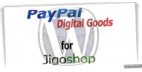 Digital paypal goods jigoshop for gateway