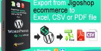 Ecommerce jigoshop export