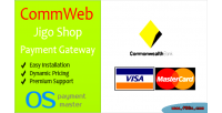 Jigoshop commweb payment gateway