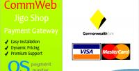 Jigoshop commweb payment gateway