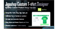 Jigoshop custom t shirt designer product and