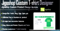 Jigoshop custom t shirt designer product and