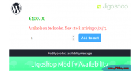 Modify jigoshop availability