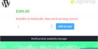 Modify jigoshop availability
