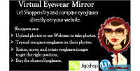 Virtual eyewear try on plugin jigoshop