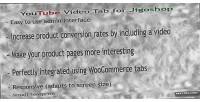 Youtube responsive video jigoshop for tab