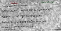 Youtube responsive video jigoshop for tab