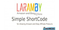 Laramby amazon & ebay plugin wordpress affiliate