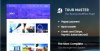 Master tour tour plugin booking wordpress travel