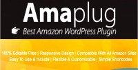 Amazon amaplug wordpress plugin