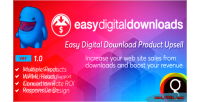 Digital easy upsells product downloads