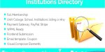 Directory institutions