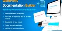 Documentation wordpress builder