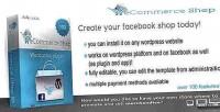 Ecommerce facebook plugin wordpress shop
