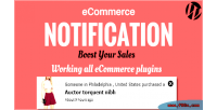 Ecommerce wordpress notification