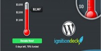 Goal wordpress thermometer