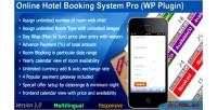 Hotel booking system pro plugin wordpress hotel
