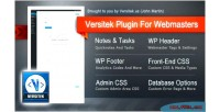 Plugin versitek for webmasters