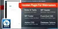 Plugin versitek for webmasters
