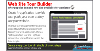 Site web tour wordpress for builder