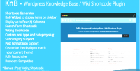 Wordpress knb knowledge shortcode wiki base