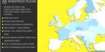 World interactive sales map