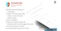 Multipurpose paymaster payment gateway