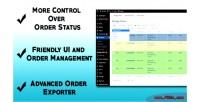 Order advanced marketpress for management