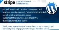 Payment stripe terminal wordpress