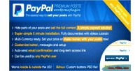 Premium paypal posts plugin wordpress paywall