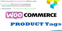 Product customize tag composer visual for