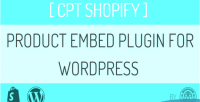 Shopify cpt embed plugin