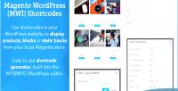 Shortcodes mwi for wordpress