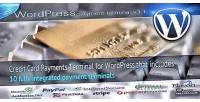 Card credit payments wordpress