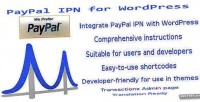 Ipn paypal for wordpress
