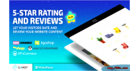 Star ratings reviews wp rating plugin for blogs review sites commerce e & star