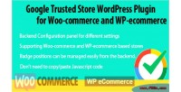 Trusted store for woo ecoomerce wp commerce trusted