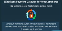 2checkout woocommerce payment gateway