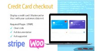 A display visual card credit checkout your on