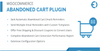 Abandoned woocommerce cart plugin