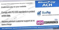Ach bluepay payment woocommerce for gateway