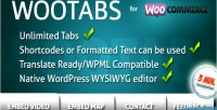 Add extra tabs to page product woocommerce add