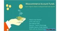Add woocommerce funds