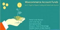 Add woocommerce funds