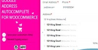 Address google woocommerce for autocomplete