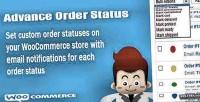 Advance woocommerce order status