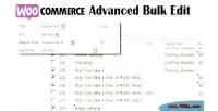 Advanced woocommerce bulk edit
